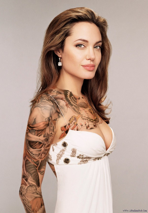 Tattoos On Womens Breast The Sexiest Most Beautiful Women In World