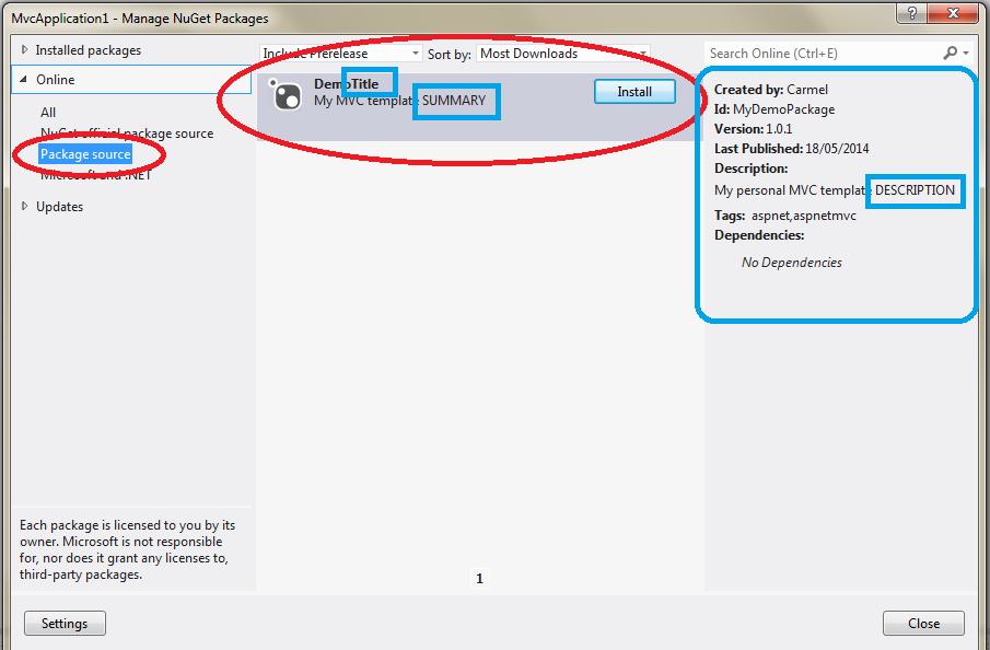 The ASP.NET MVC Club: Step By Step How to create a custom ...
