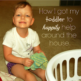 Getting Toddlers to Help with Chores