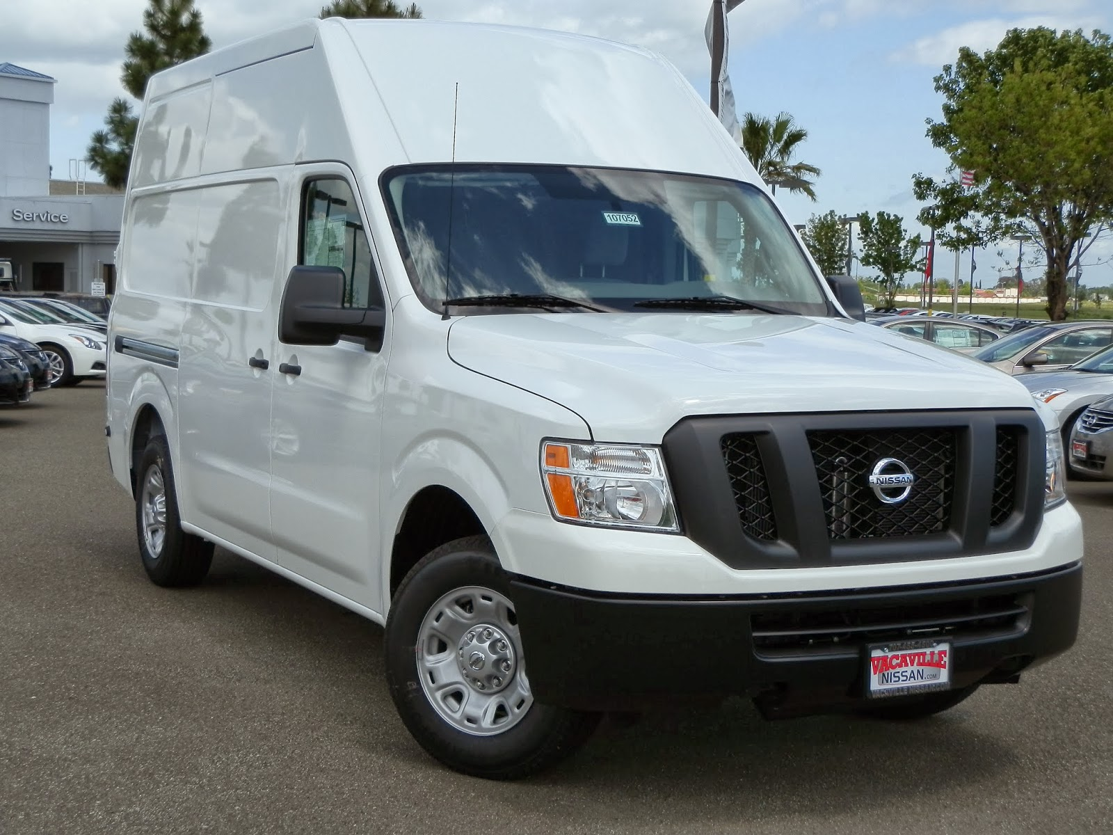 Vacaville Nissan Fleet: Vacaville Nissan NV Cargo Van of ...