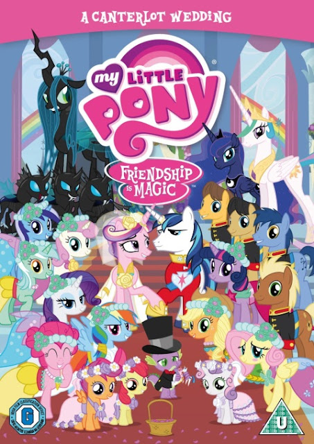 My Little Pony: A Canterlot Wedding DVD - Review and Giveaway