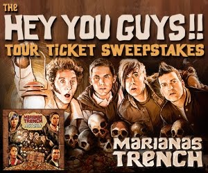 Marianas Trench Syndicated Contest