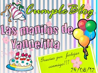 {CumpleBlog y Sorteo de Yannelitta}