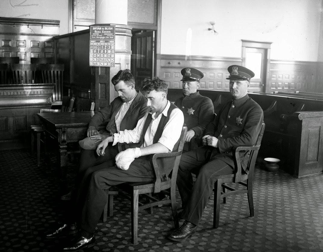 Vintage crime photos fuck