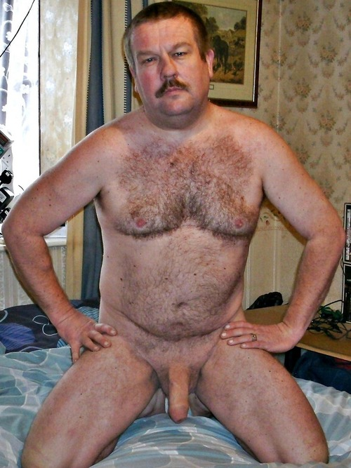 daddies - hairy mens - uncut hard cock