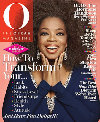 Oprah All Natural Hair on O Magazine