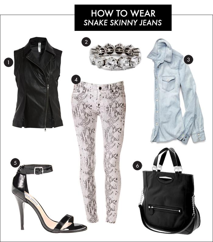 skinny jeans, snake skinny jeans
