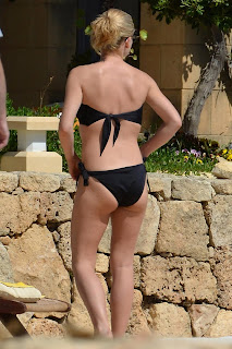 Katherine Jenkins Bikini Candids