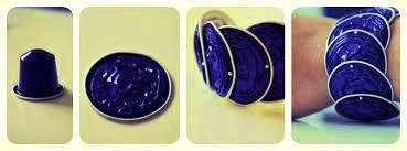 Artesanato com Cápsulas de café | Dá pra fazer pulseira