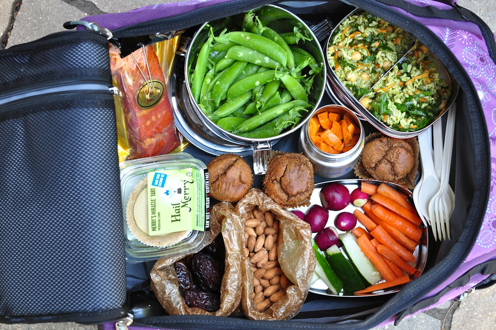 Nourishing MealsR Packing Healthy Food For Air Travel