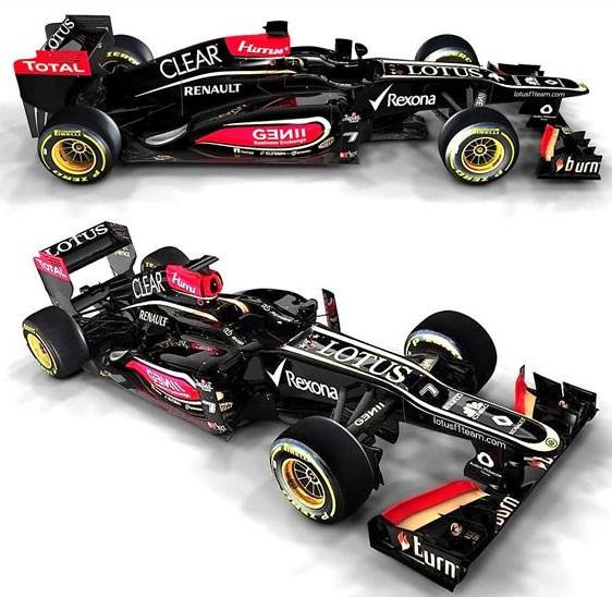 Lotus E21 RS27 2013