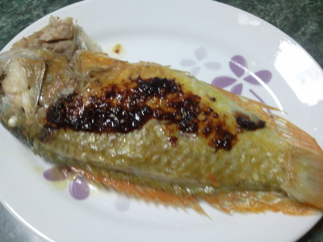 Kingsize 39 sfeasta grilled fish soup for Pan grilled fish