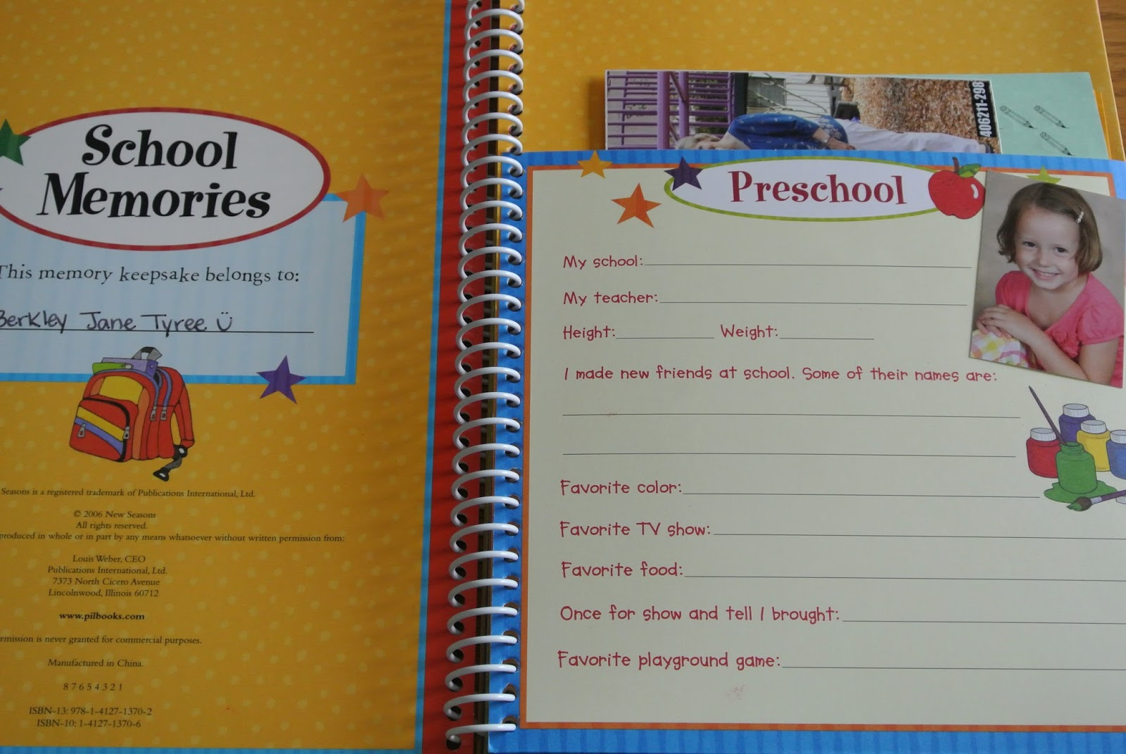 my first school memories The complete storage solution for your child's school memories holds school photos, school reports, awards, certificates, artwork, party invites and more from kinder to year 12.