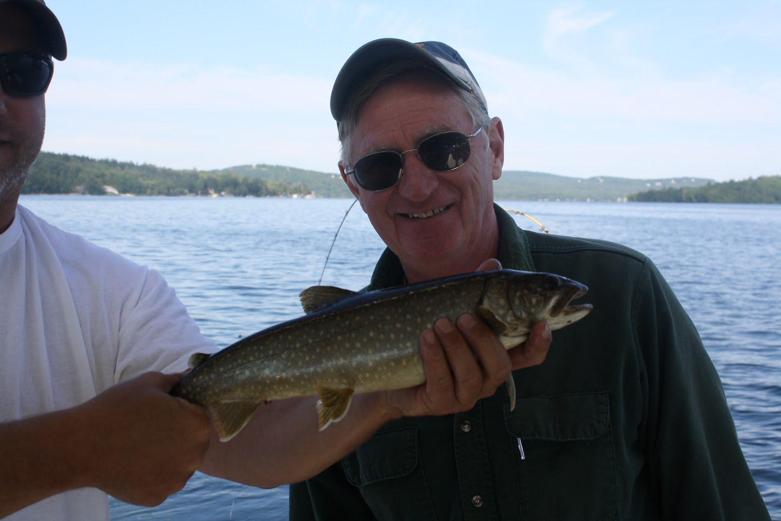 Catch m all old man groves of the sea fish 30 lake trout for Fish at 30 lake