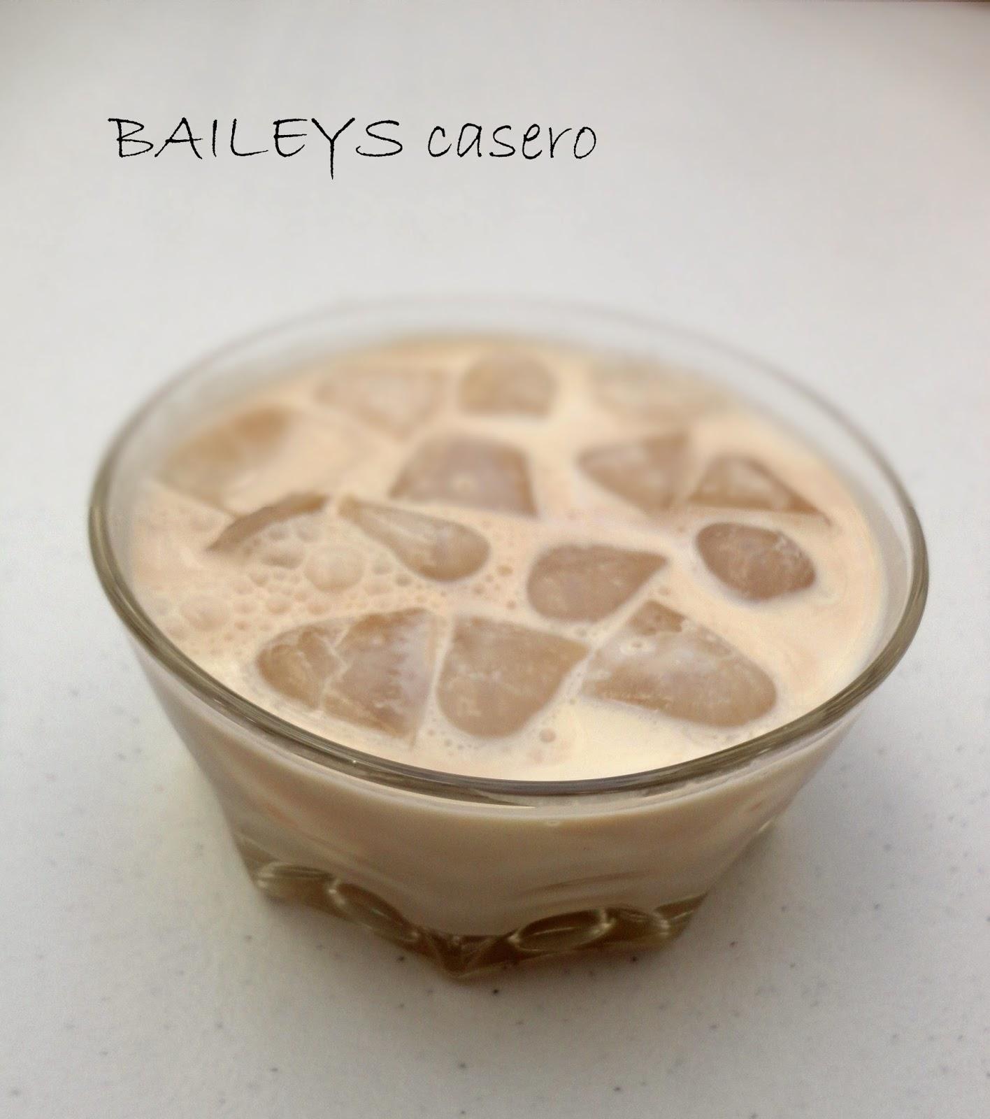 Crema de whisky casera (Baileys casero)
