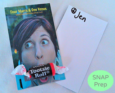 SNAP prep business cards