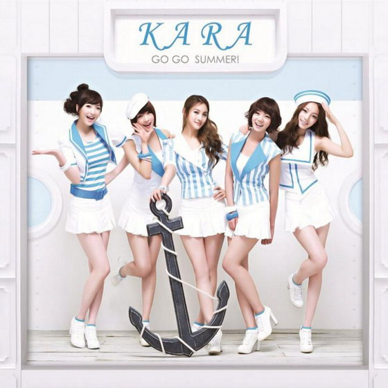 KARA Go Go Summer Japanese concept pics and MV