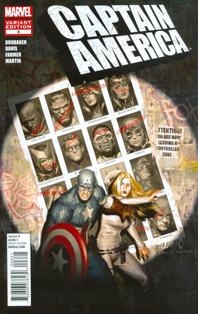 Capitán America Homenaje Uncanny X-Men 141