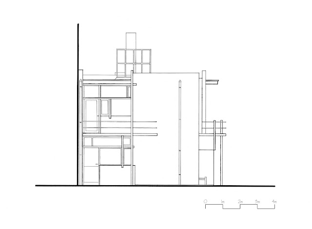 THE RIETVELD-SCHRODER HOUSE: HAND DRAWINGS