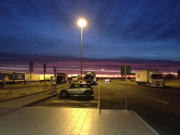 l'alba degli autogrill - foto di profste