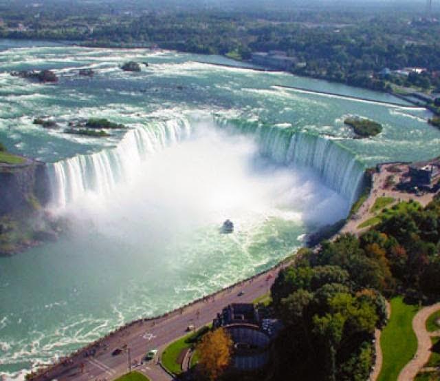 Niagara Falls, Ontario, Canada & New York State, USA