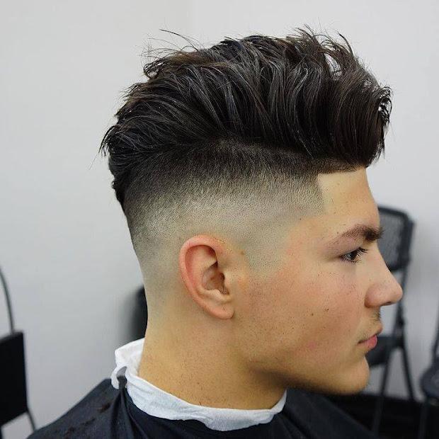 layered haircuts 40 men's