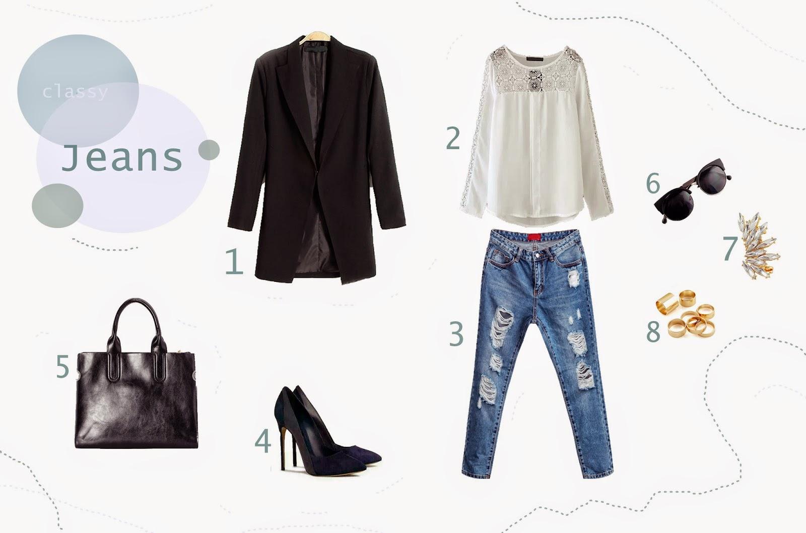 Jeans for spring - Sheinside wishlist