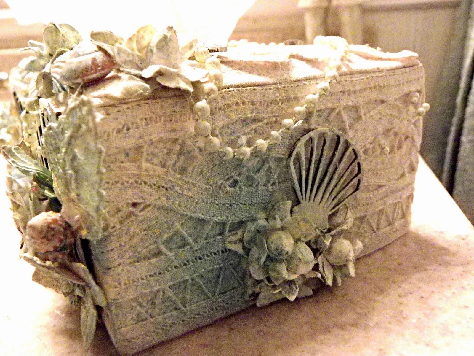 Gypsy soul laser cuts beach themed tissue box cover - Beach themed tissue box cover ...
