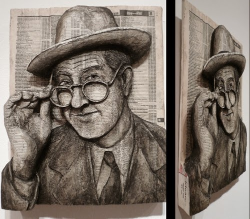 15-Do-You-Know-Who-Is-Let-Me-Know-Phone-Books-Sculpture-Carving-Cuban-Artist-Alex-Queral-WWW-Designstack-Co
