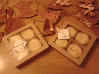 Hand crafted Mince Pies from M&S