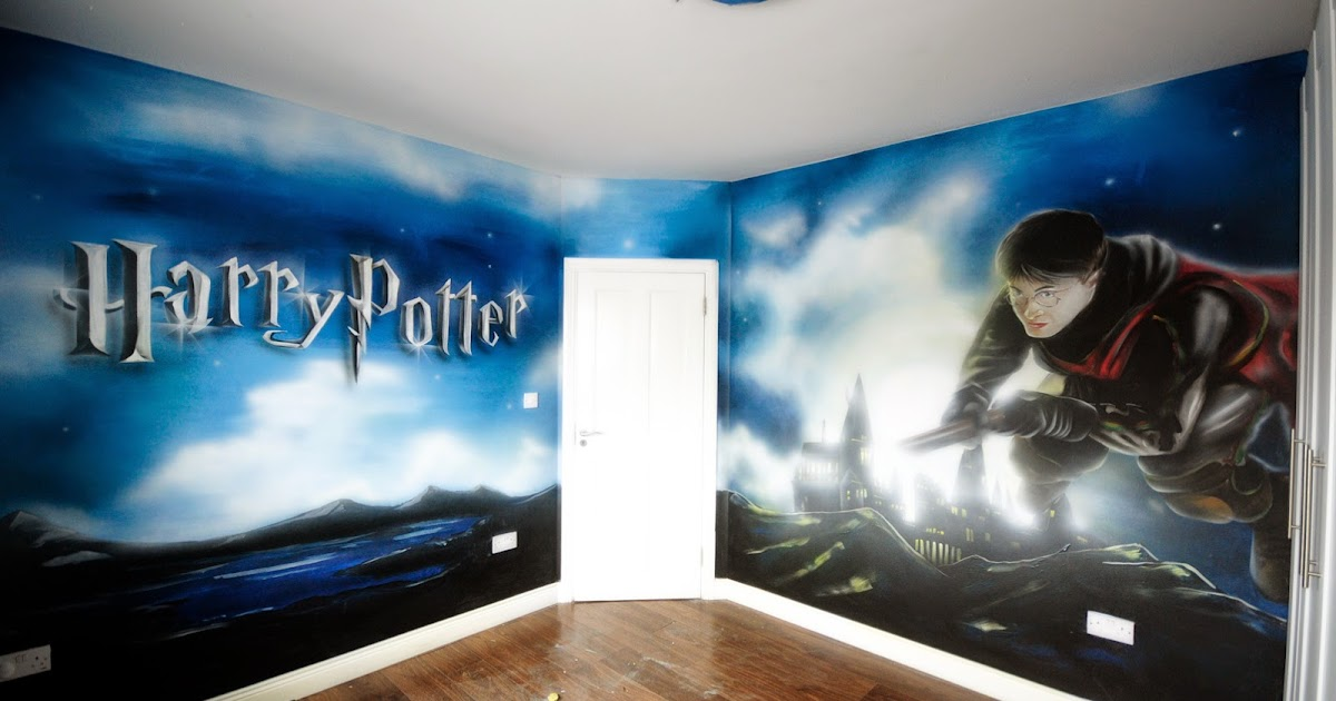 Mural Painting Professionals featurewalls ie  HARRY POTTER BEDROOM MURALS  BY FEATUREWALLS IE. Mural Painting Professionals featurewalls ie  HARRY POTTER BEDROOM