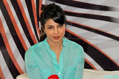 Priyanka Chopra during a Press Meet in Imphal 7