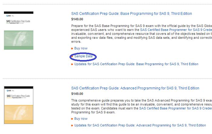 データステップ100万回 SAS新手一生: 「SAS® 認定プロフェッショナルの ...