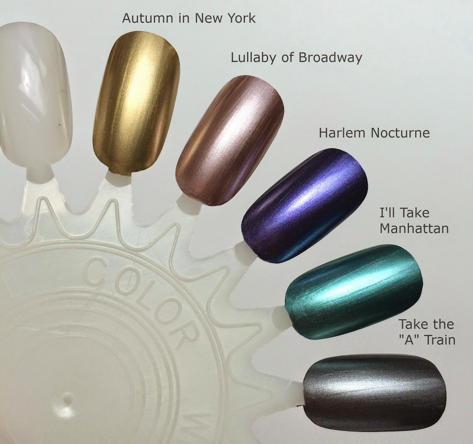 Deborah Lippmann Fall 2014 New York Marquee Swatches
