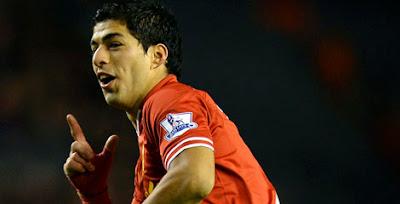 Luis Suarez (Liverpool) - Inidia 10 Striker Paling Mematikan di Eropa Sejauh Ini
