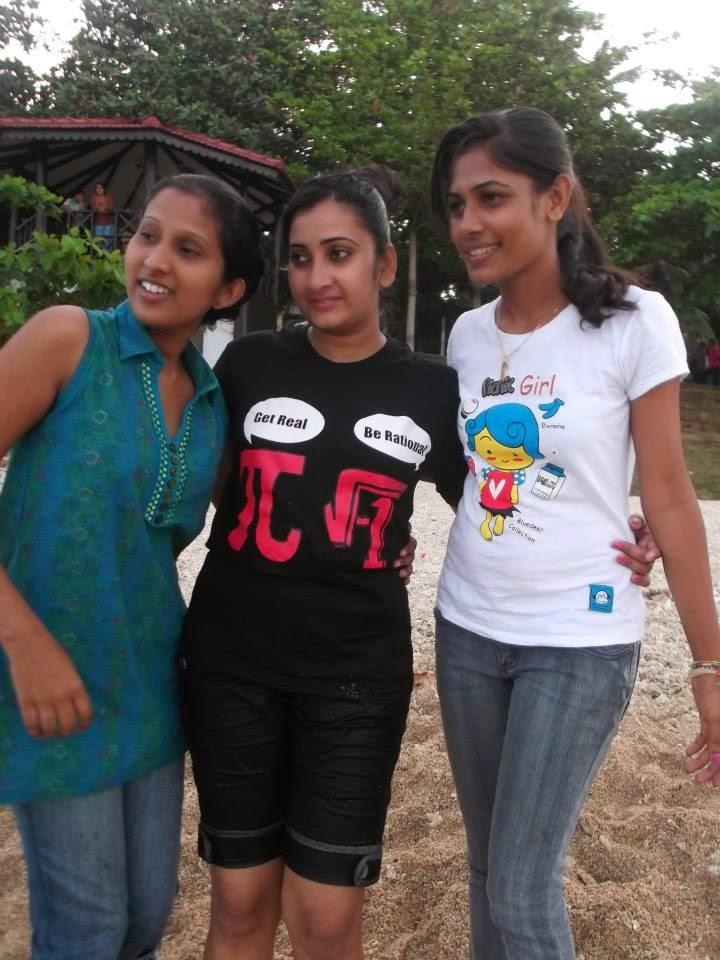 madhu nithyani wet at beach