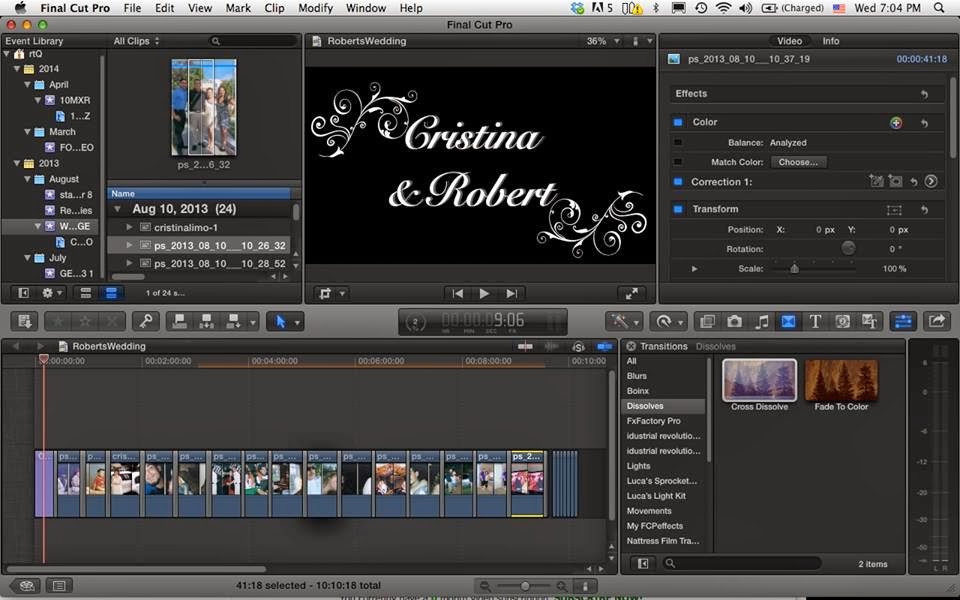 Aftershock Entertainment Now Offers Custom Wedding Video Montages Slideshowore