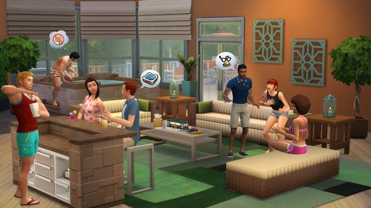 The Sims 4 Terraço Perfeito