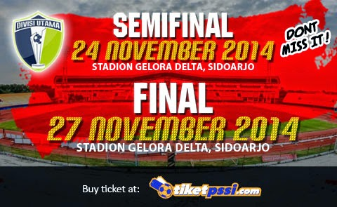 Borneo FC vs Persiwa Final Divisi Utama 2014