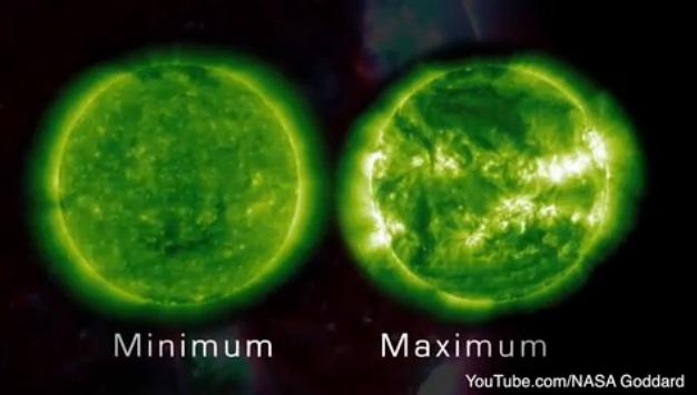 Maunder Minimum sun