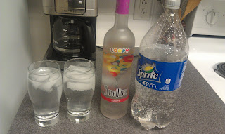 Fruit Loop Vodka with Sprite