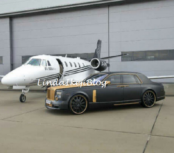 OMG     Emmanuel Adebayor shows off mega wealth  See his private jet    Emmanuel Adebayor House