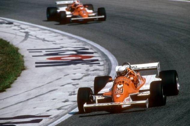 Arrows, Equipe histórica de Formula 1 de 1981 - pordentrodosboxes.blogspot.com