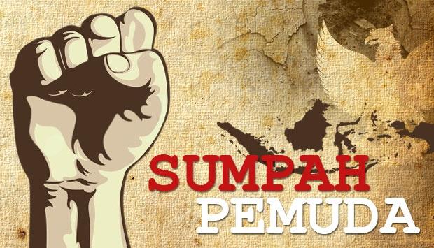 komitmen untuk bertumpah darah yang satu, tanah air Indonesia; berbangsa yang satu, bangsa Indonesia; dan menjunjung bahasa persatuan, bahasa Indonesia