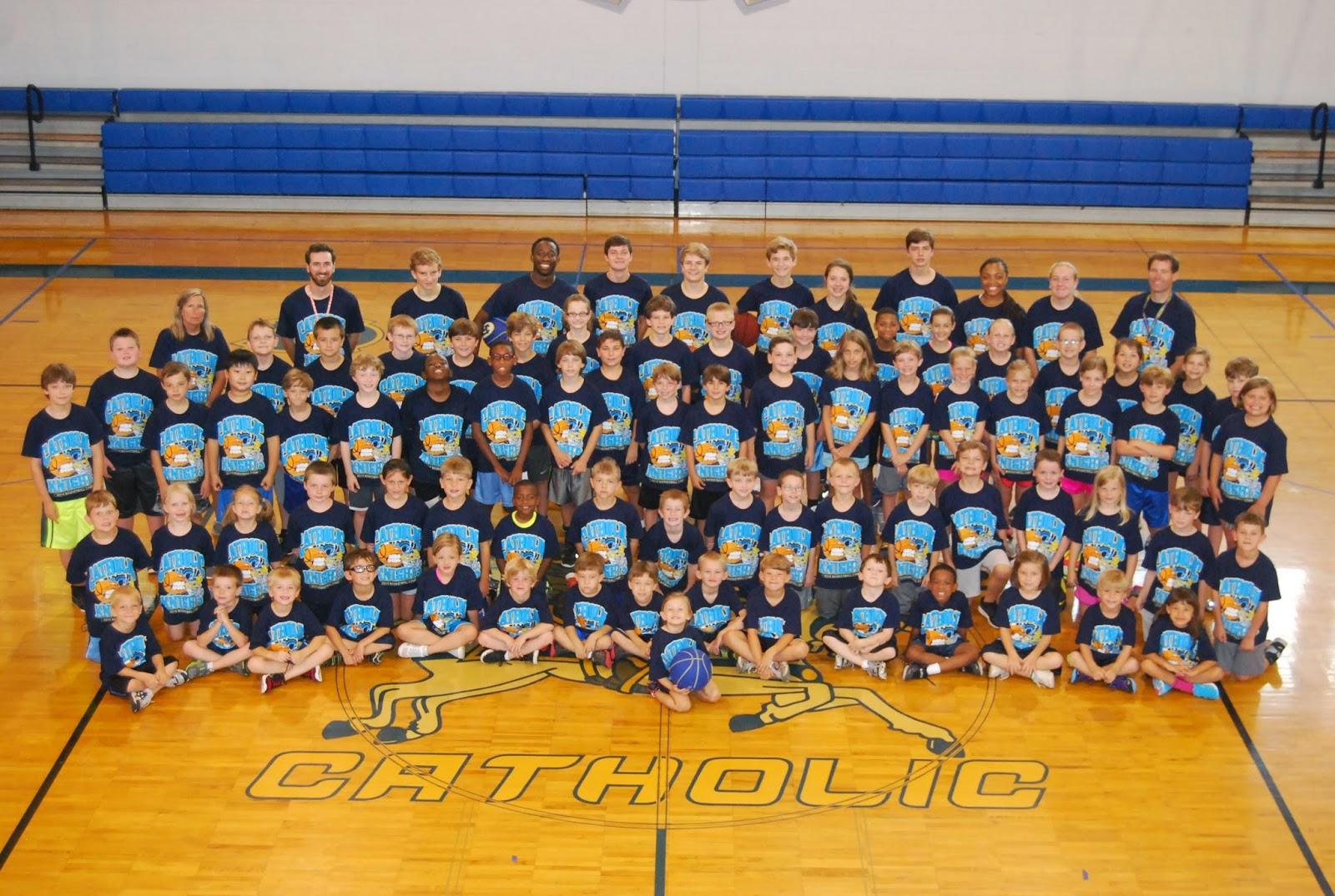 Catholic Varsity Athletes Host Summer Camps 1