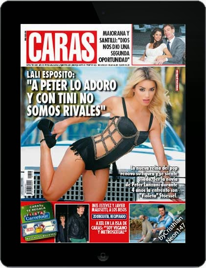 Revista CARAS Argentina (25 Noviembre 2014) ESPAÑOL - Lali Espósito: