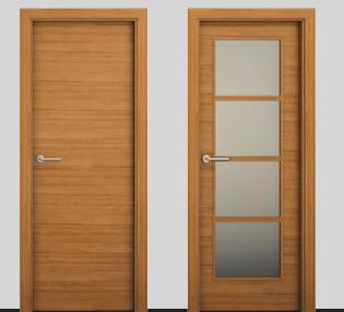 Fotos y dise os de puertas catalogo puertas de interior for Disenos de puertas de madera para exterior