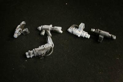 Imprimación de las armas pesadas