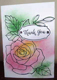 Rose Garden Stamp Set Zena Kennedy independent stampin up demonstrator