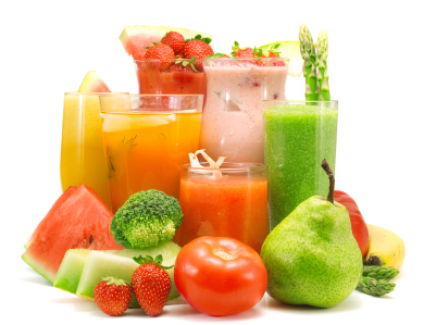 Bajar de peso con jugos